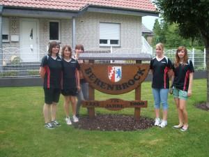 v.l. Laura Knoop, Judith Becker, Christina Hammerl, Katharina Jacob, Lena Schweighöfer
