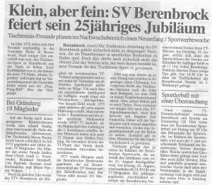 BSV-TT-25 Jahre-Artikel Der Patriot-1998-T. Wiegand