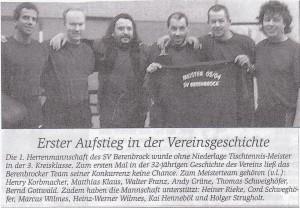 BSV-TT- Meister 2003-2004