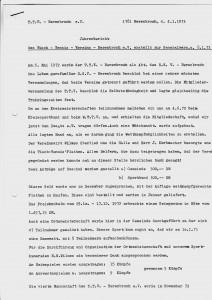 JHV 08.01.1973- Jahresbericht